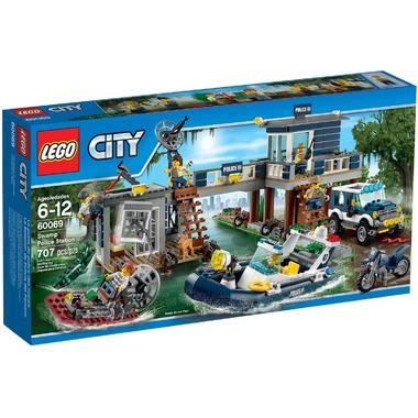 Конструктор LEGO City 60069 Участок новой Лесной Полиции