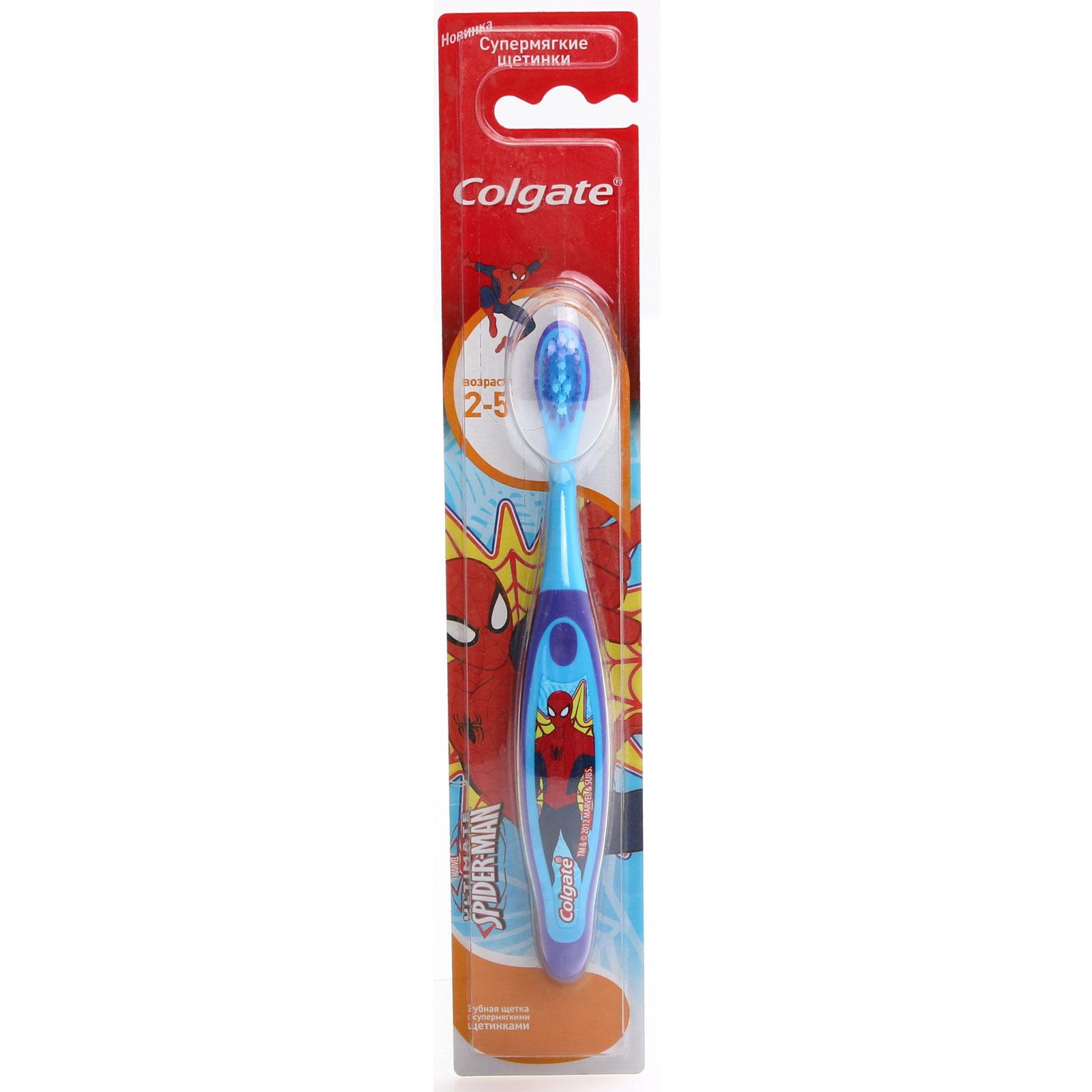 ������ ����� Colgate Smiles Barbie & Spaidermen � 2 �� 5 ��� (����������� �������)