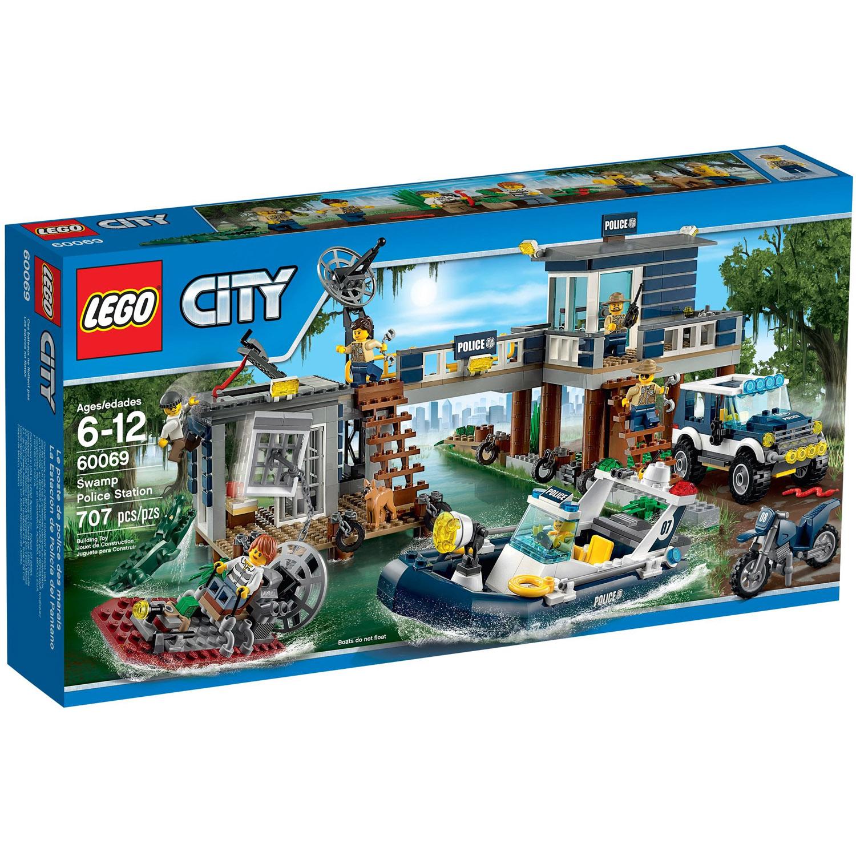 Конструктор LEGO City 60069 Участок новой Лесной Полиции<br>