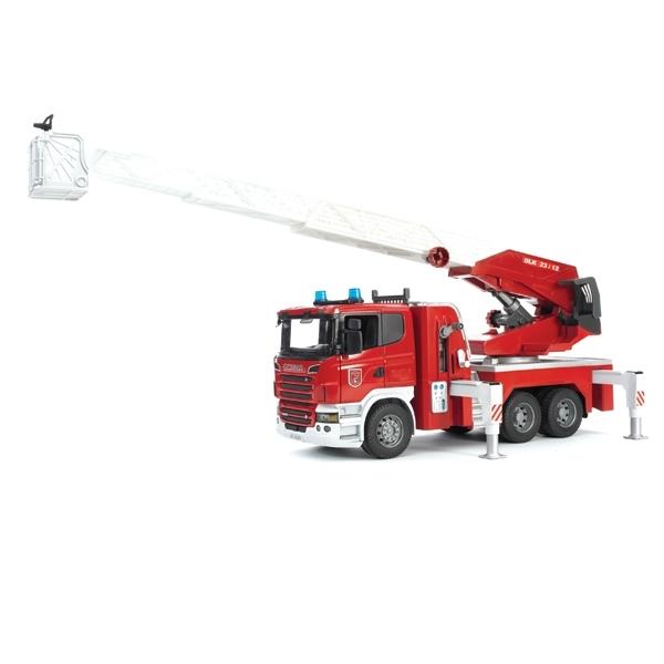 Пожарная машина Bruder Scania Со светом и звуком<br>