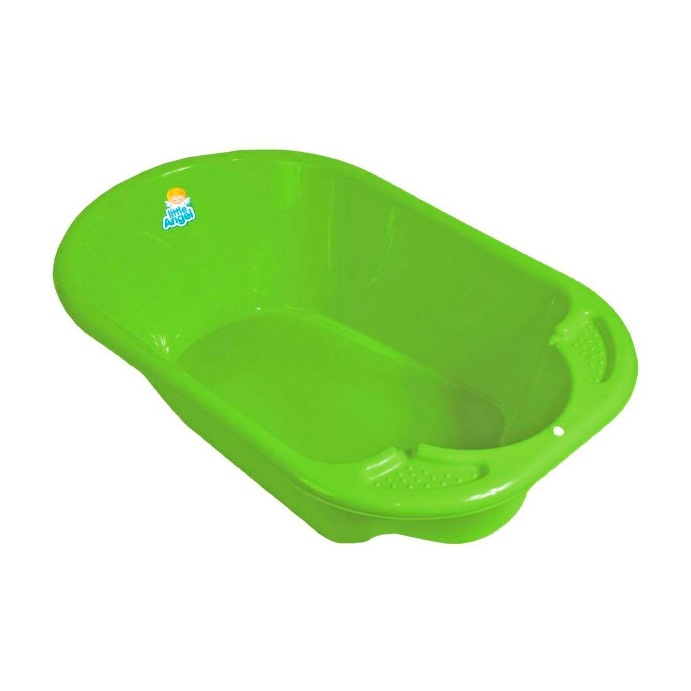 Ванночка Little Angel Дельфин 80 см Цвет - зелёный<br>