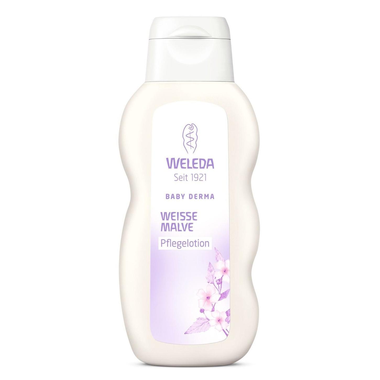 Молочко для тела Weleda Baby Derma с алтеем 200 мл для гиперчувствительной кожи<br>