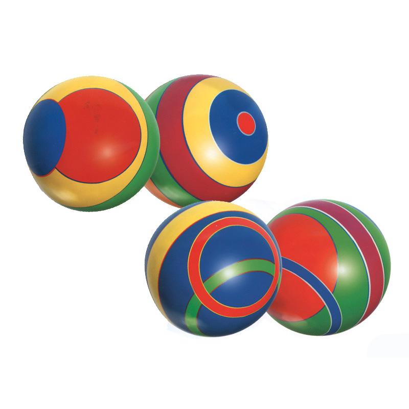 Мяч Русский стиль 200 мм Полоса<br>
