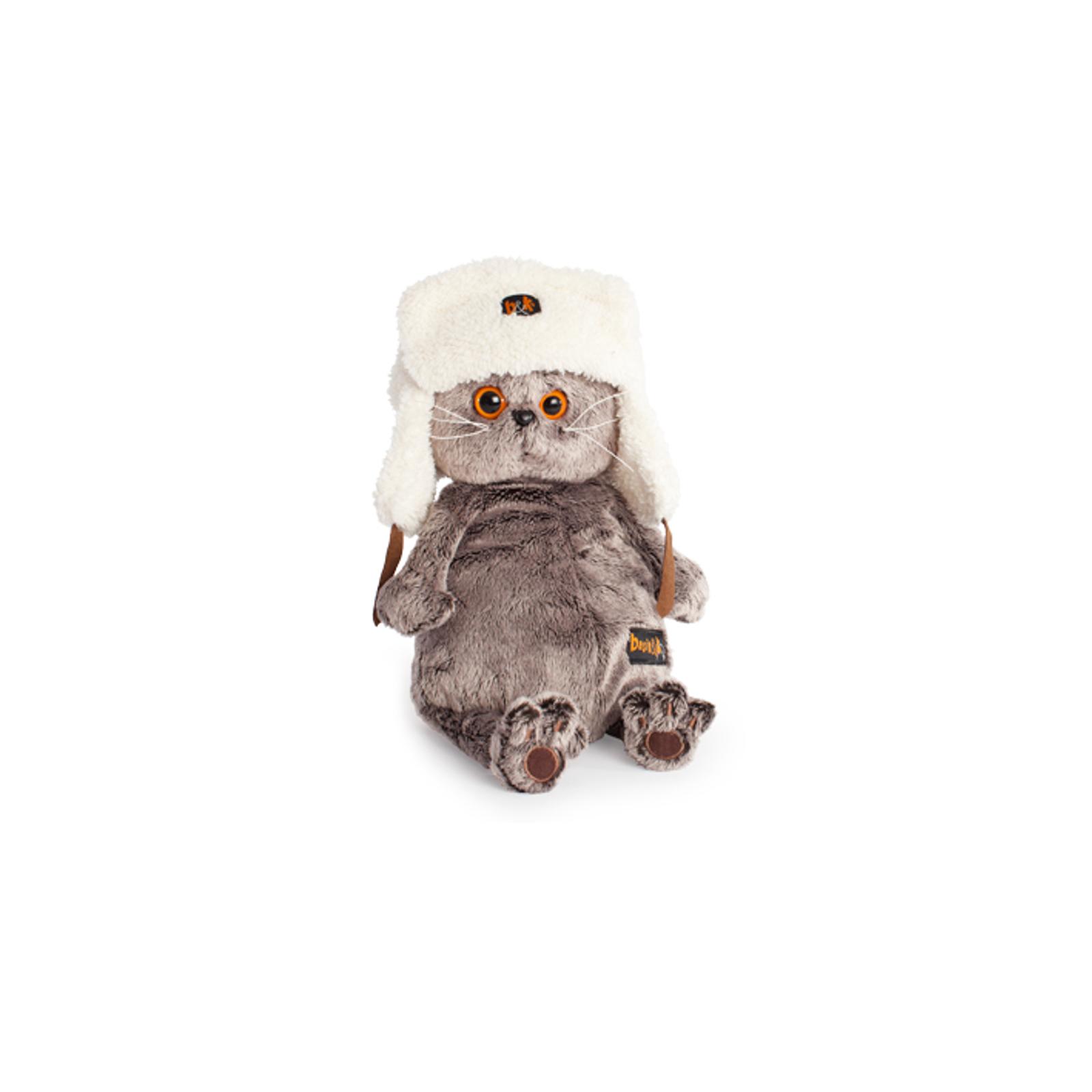 Мягкая игрушка Basik&amp;amp;Ko Басик в шапке-ушанке 22 см<br>
