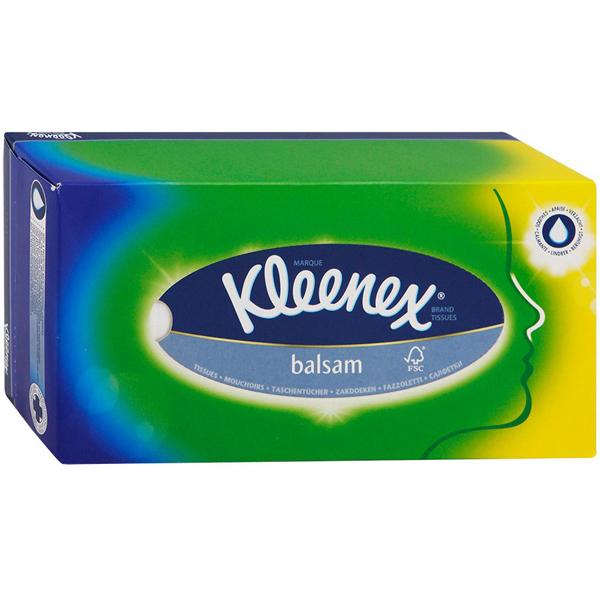 �������� �������� Kleenex BALSAM � ���������� ��������� 3-� ������� 80 ��