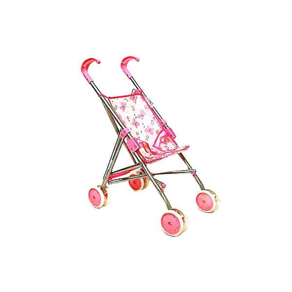 Коляска для кукол Melogo Трость розовая