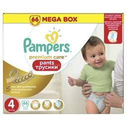 Трусики Pampers Premium Care 9-14 кг (66 шт) Размер 4