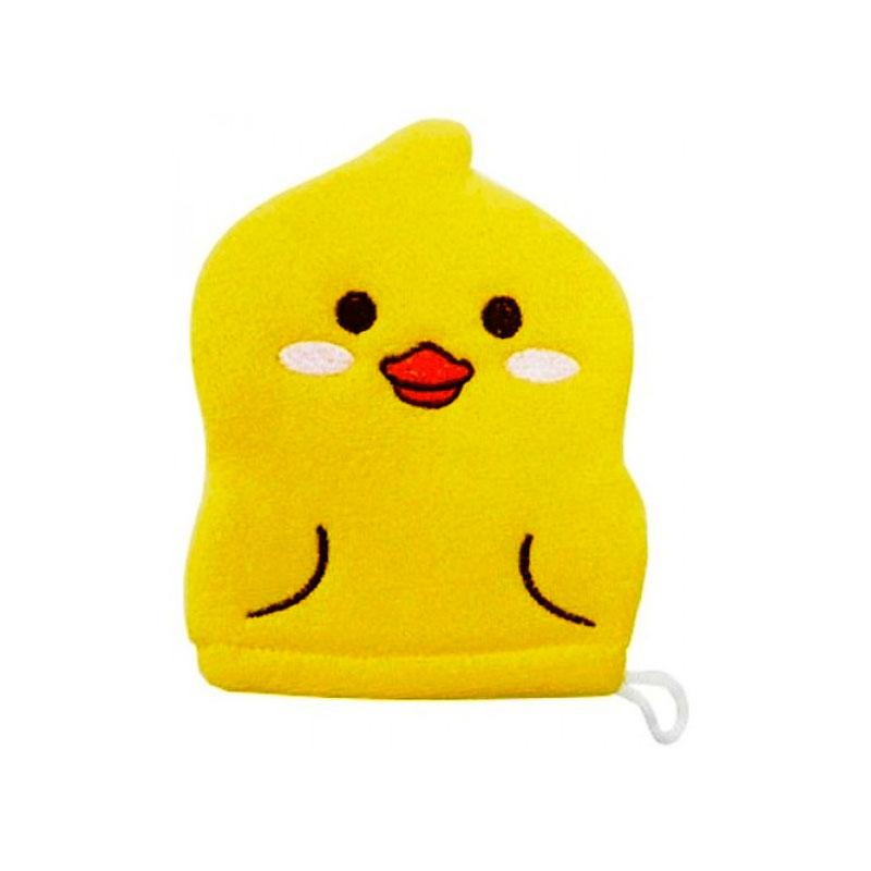 Рукавичка для мытья тела Kokubо Furocco Желтый Утенок