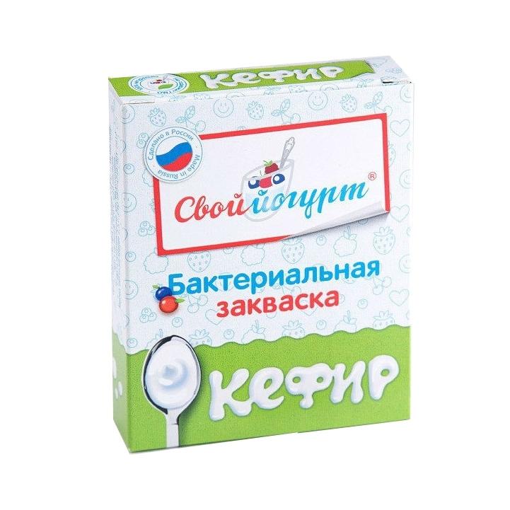 Закваска для приготовления Кефира (с 1 года) 1 гр 5 шт<br>