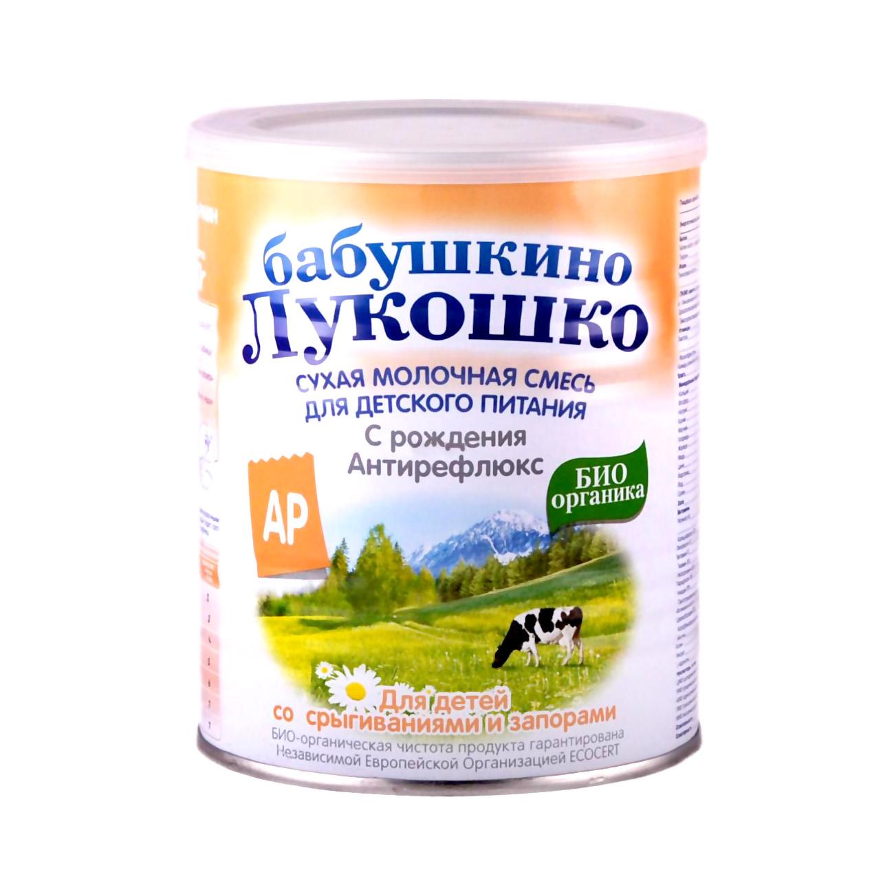 Заменитель Бабушкино лукошко Антирефлюкс БИО 400 гр с 0 мес