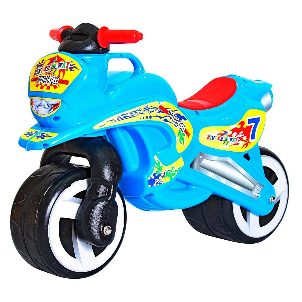 Беговел RT 11-006 MotorCycle 7 Голубой<br>