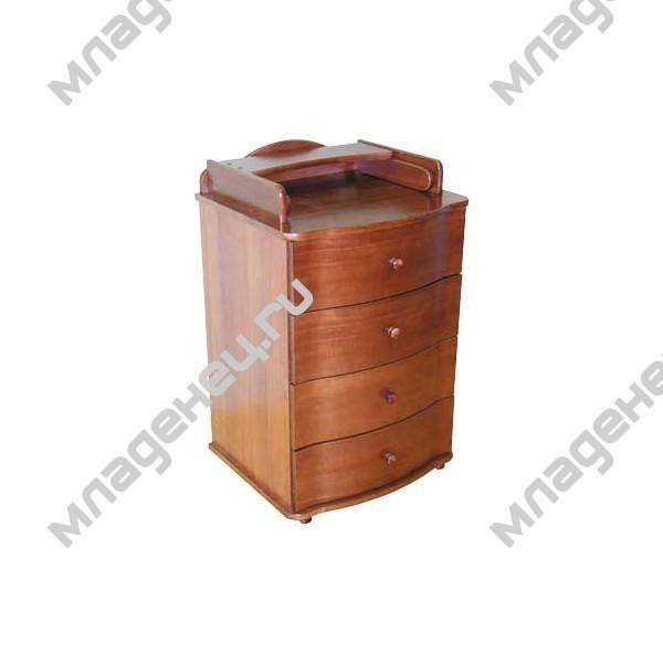 Комод Можга тип 28 Красно коричневый<br>