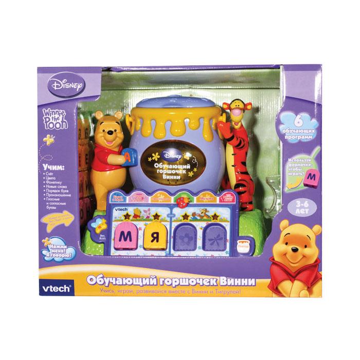 Развивающие игрушки Vtech Обучающий горшочек Винни