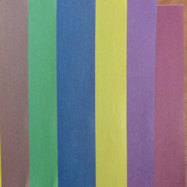 Набор цветной бумаги ACTION! FANCY Двусторонняя газетная бумага А4 8 цветов 16 листов 2 дизайна
