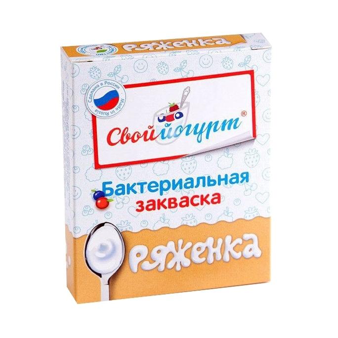 Закваска для приготовления Ряженки (с 1 года) 1 гр 5 шт<br>