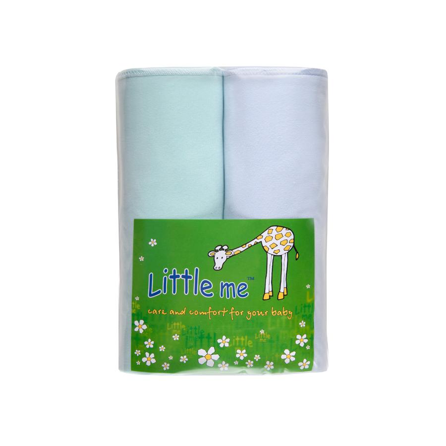 Пеленка Little Me комплект из 2 шт. Кулирка, 90*120 см.