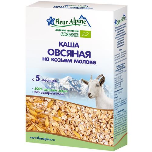 Каша Fleur Alpine Органик на козьем молоке 200 гр Овсяная (с 5 мес) на козьем молоке<br>