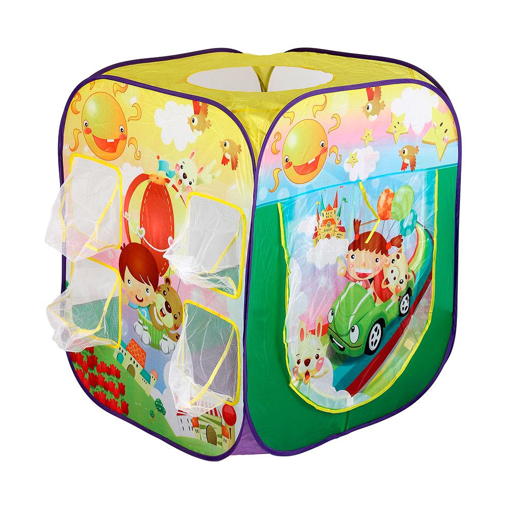 Игровой Дом Calida Путешественники + 100 шаров<br>
