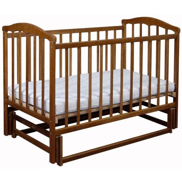 Кроватка Наполеон Чайка Орех и Ольха