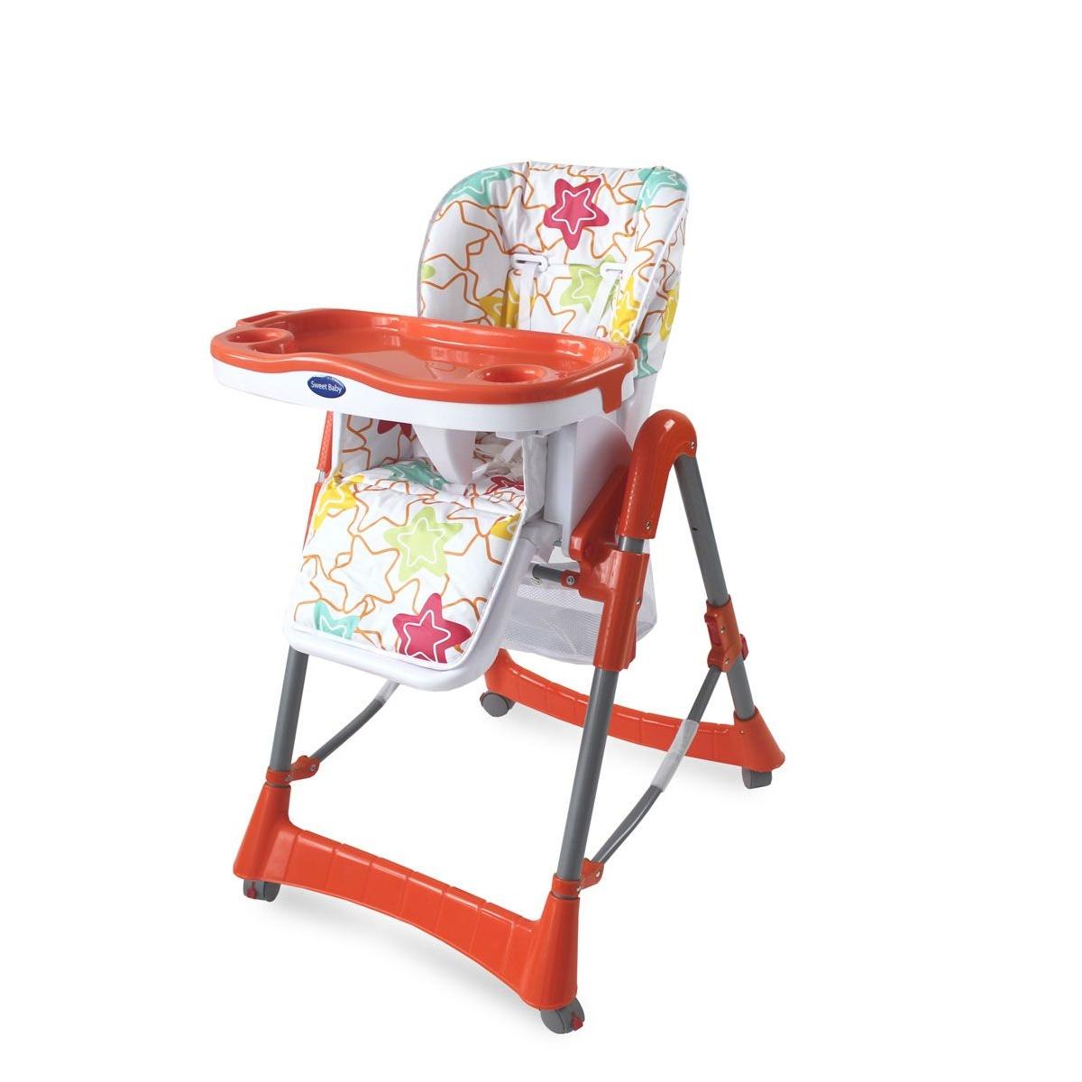 Стульчик для кормления Sweet Baby Stella Arancione<br>