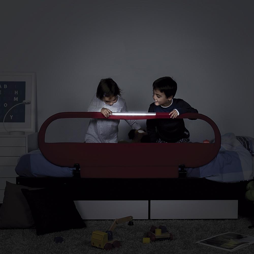 Барьер на кровать Babyhome Side Led с ночником Navy