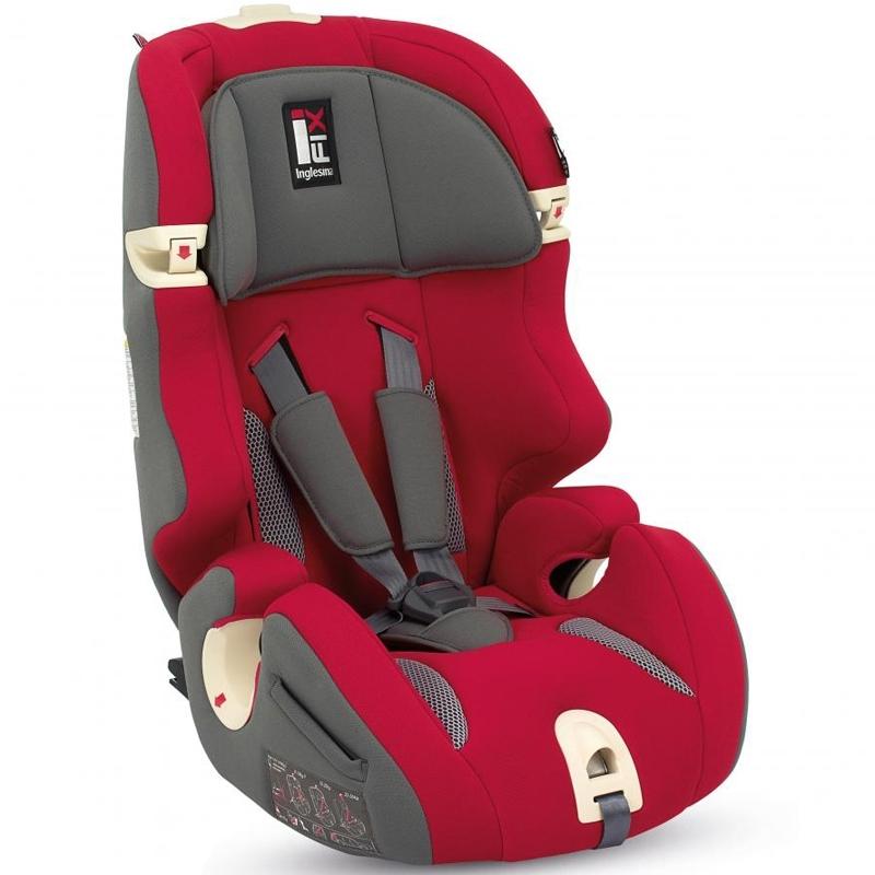 Автокресло Inglesina Prime Miglia I-Fix Красный<br>