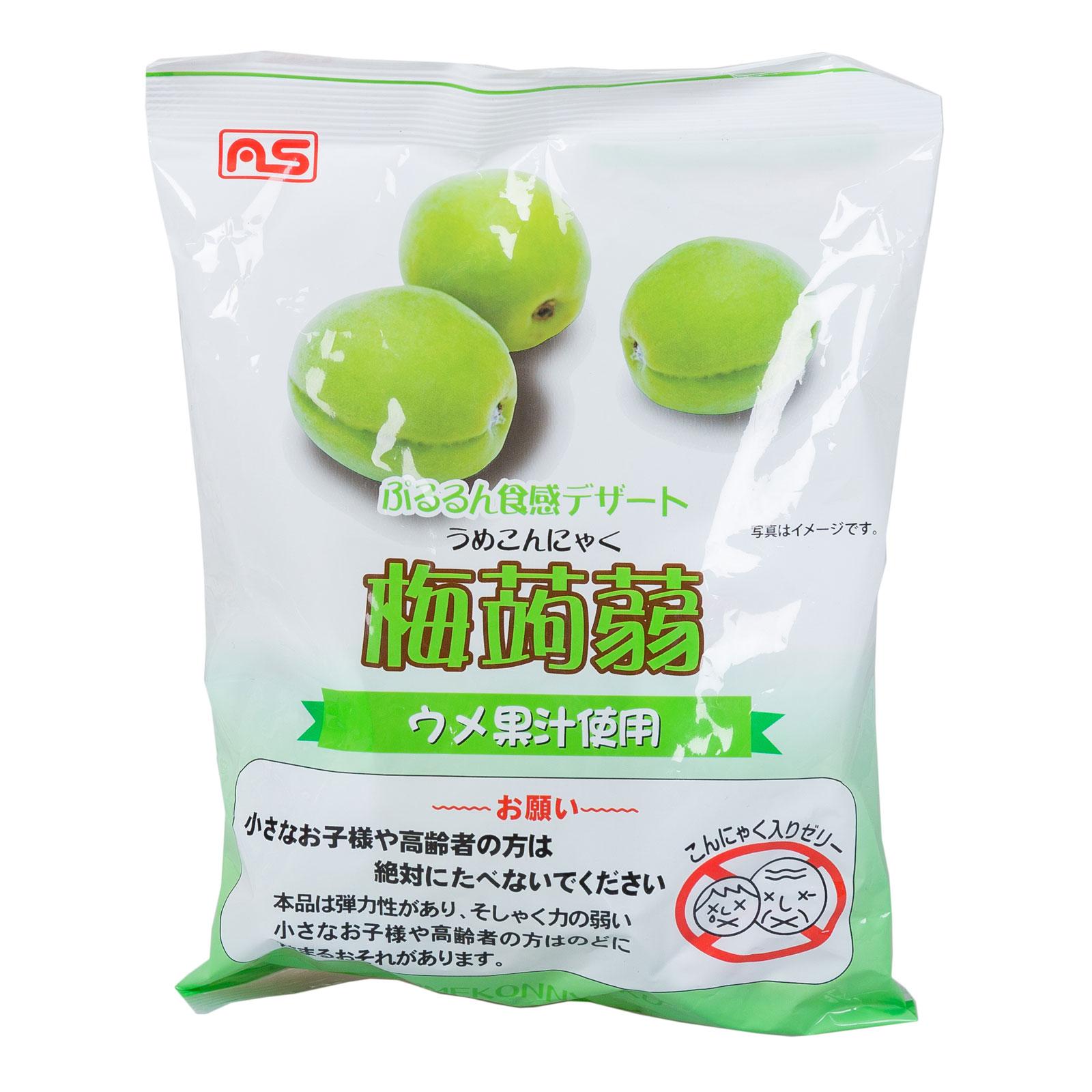 Желе AS Foods конняку 213 гр Японская слива 9 порций (с 3 лет )<br>