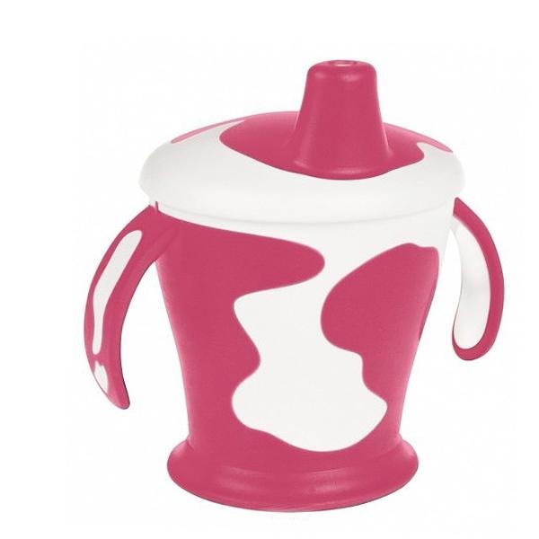 Чашка-непроливайка Canpol Babies С ручками 250 мл (с 9 мес) красная<br>