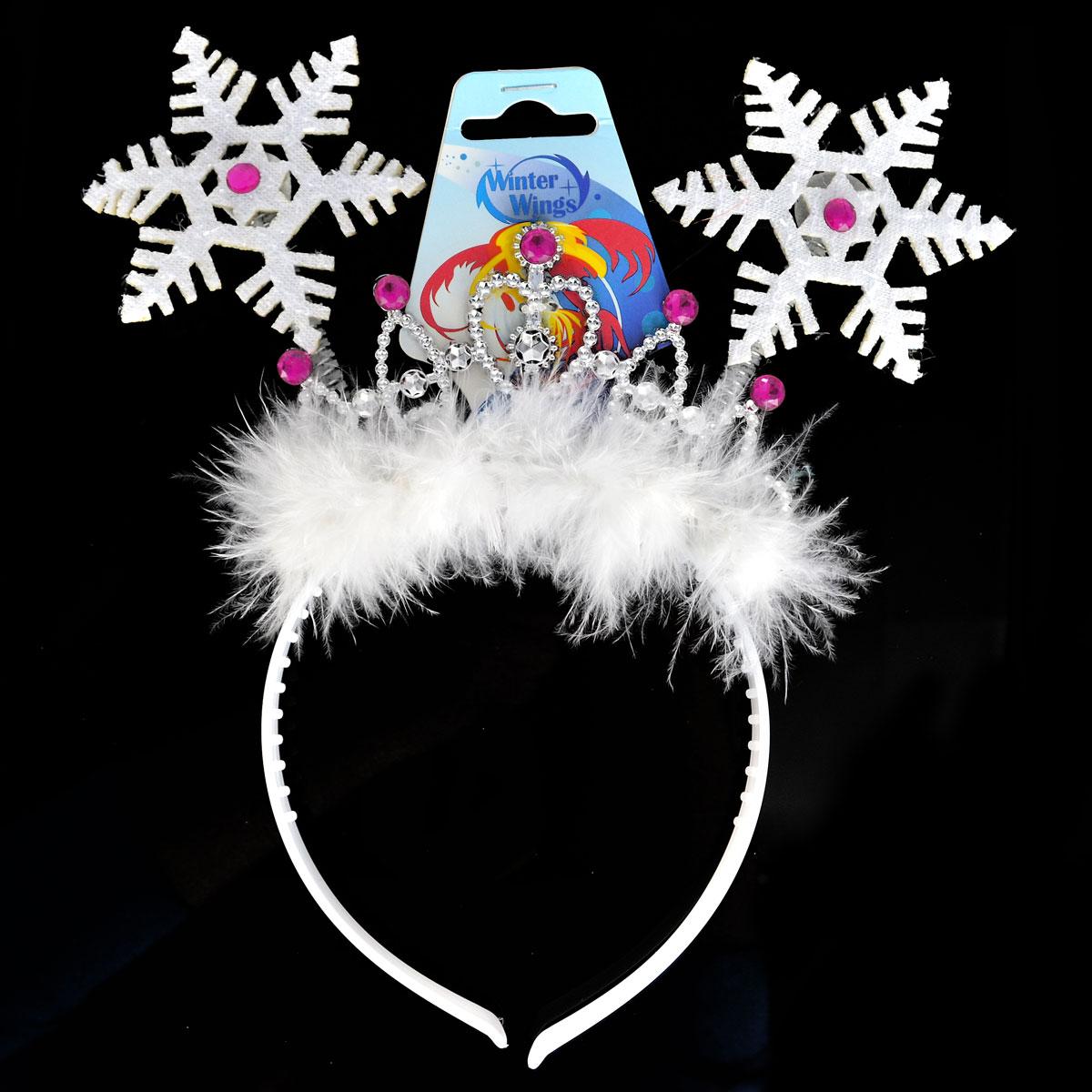 Карнавальный ободок Winter Wings Звезды<br>