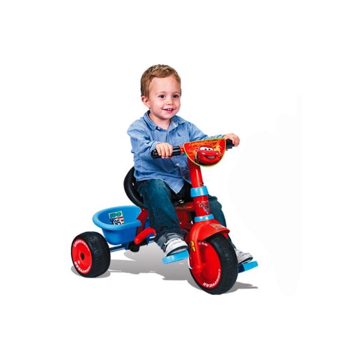 Трехколесный велосипед Smoby Be Fun Confort Cars