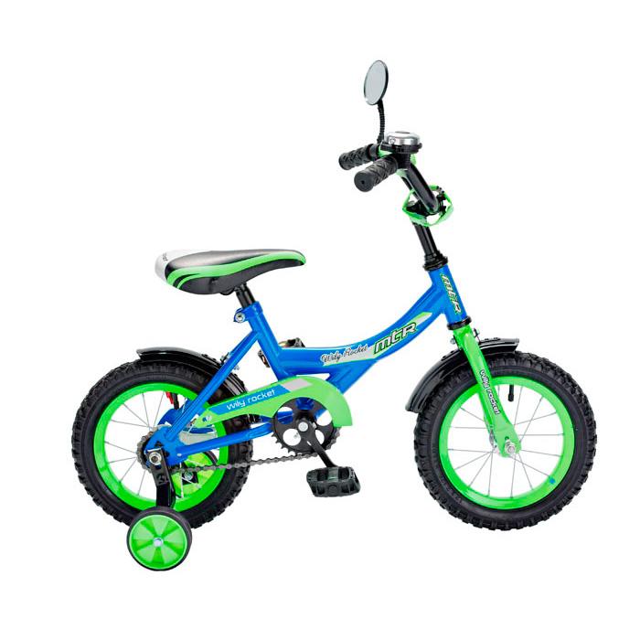 Велосипед двухколесный RT BA Wily Rocket 12 KG1208 Синий<br>
