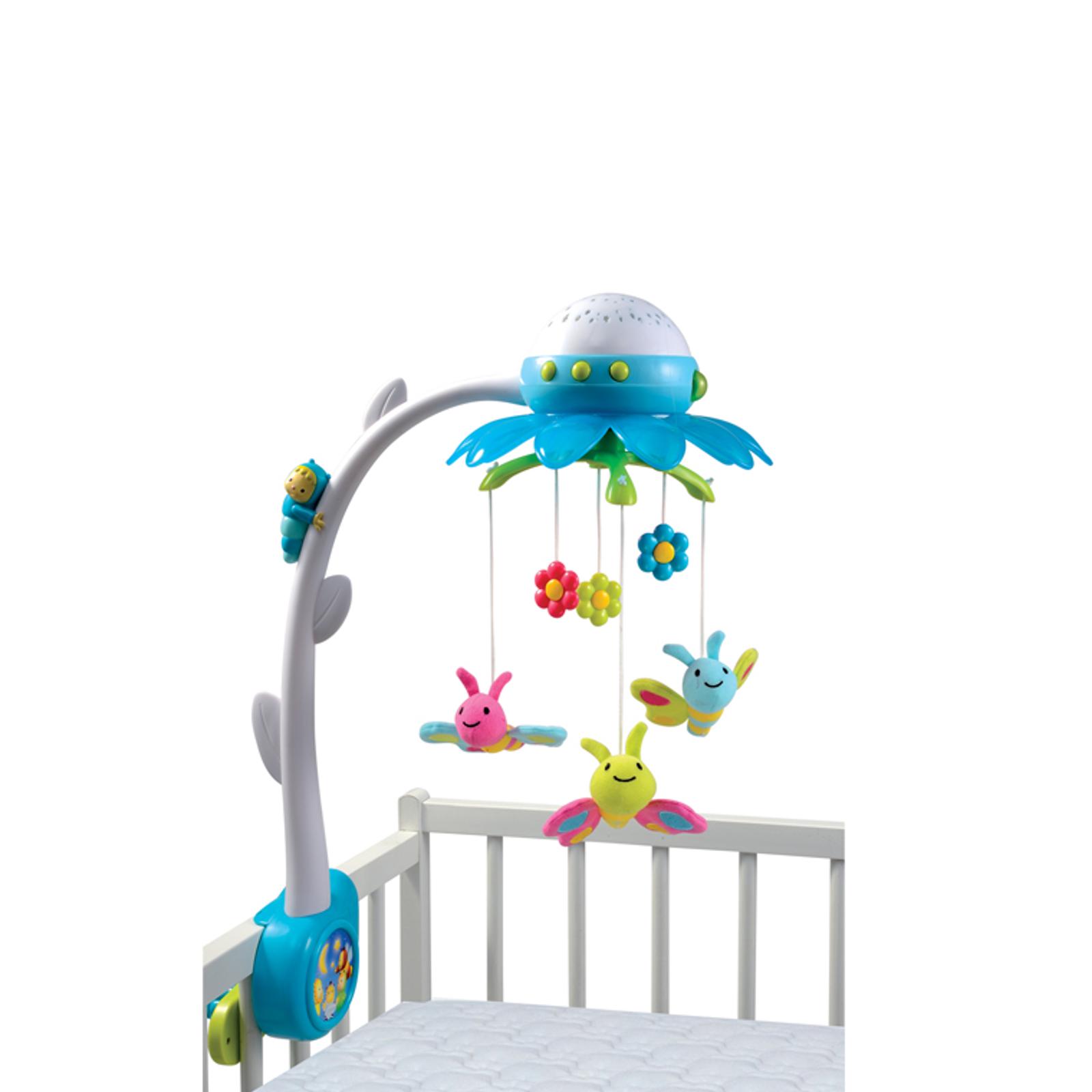 Мобиль Smoby Цветок на кроватку с 0  мес. (музыкальный)<br>