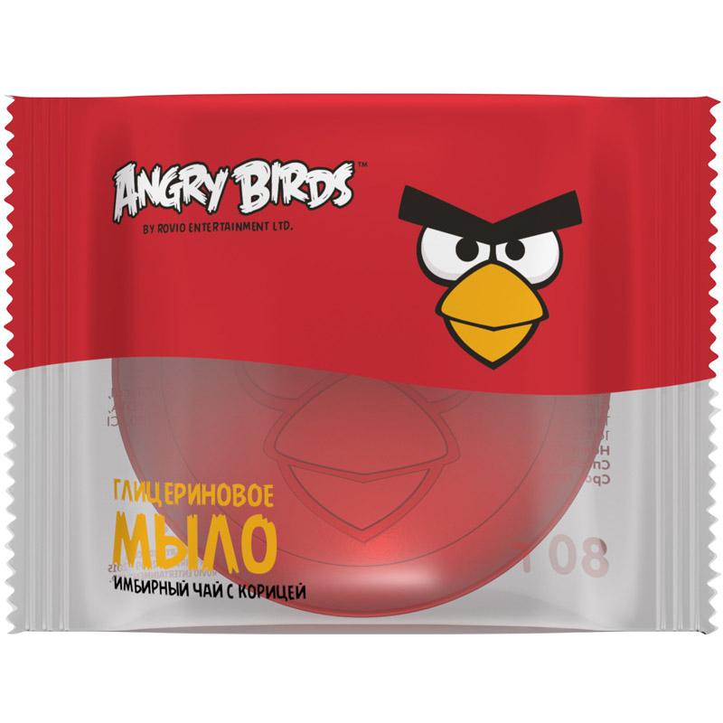 Мыло глицериновое Angry Birds 200 мл Имбирный чай с корицей<br>