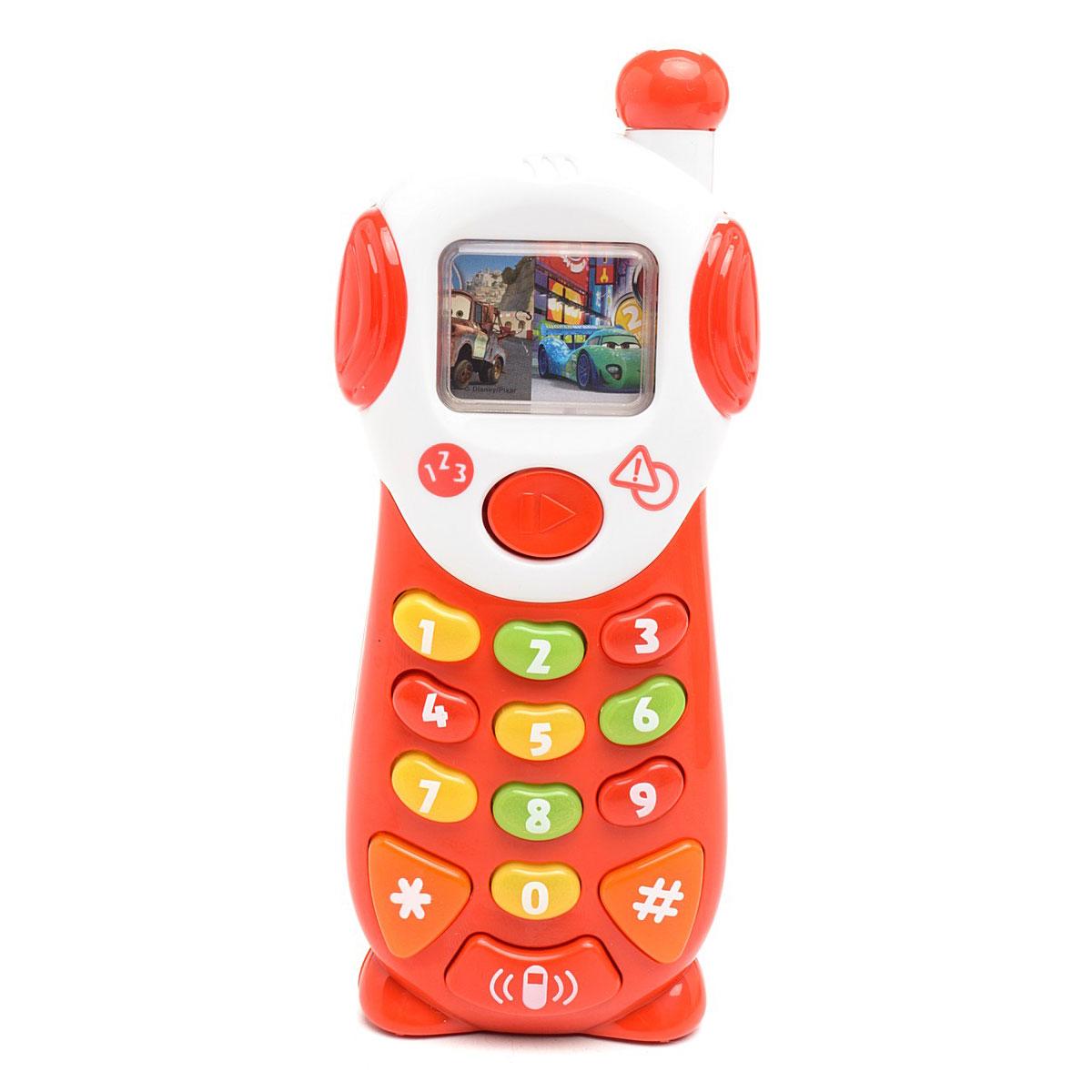 Мобильный телефон Умка Тачки Disney 9 обучающих функций