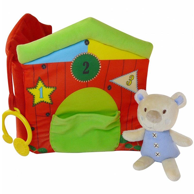 Развивающая игрушка Biba Toys книга Мишка<br>