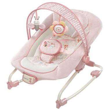 Кресло-качалка Bright Starts Розовое счастье