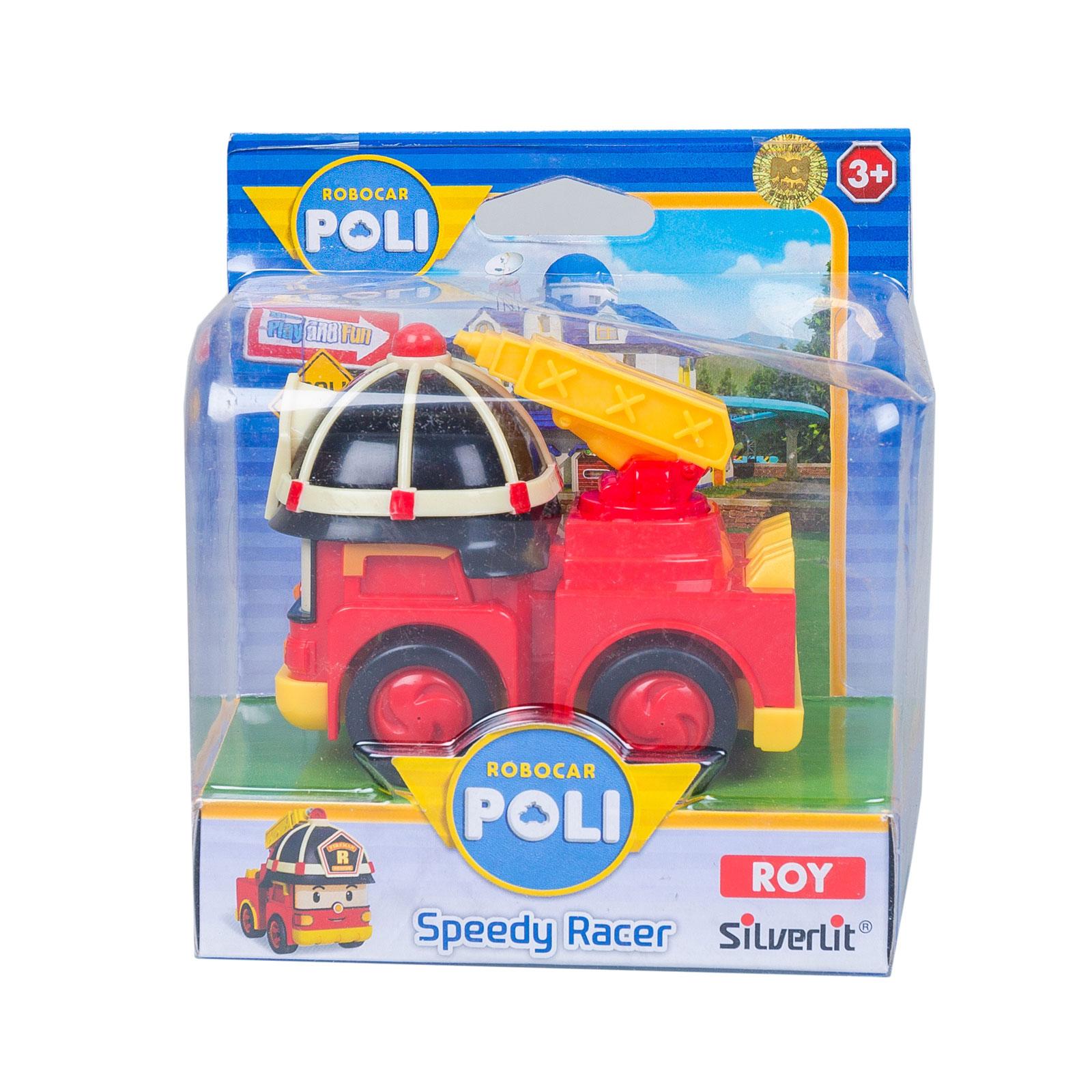 Машинки Silverlit Poli Robocar инерционные 8 см Пожарная 8 см с 3 лет<br>
