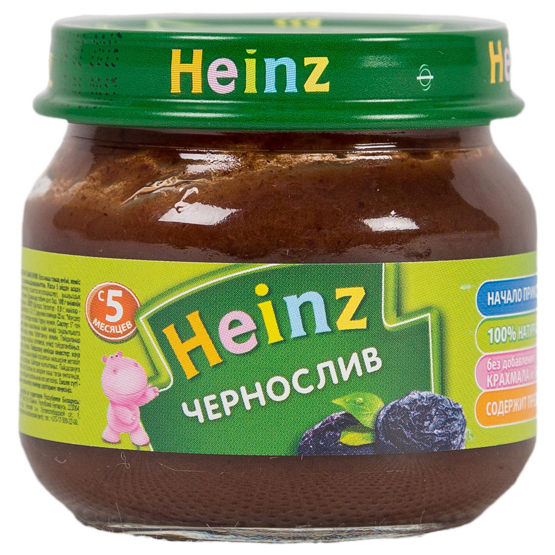 Пюре Heinz фруктовое 80 гр Чернослив с пребиотиками (с 5 мес)<br>