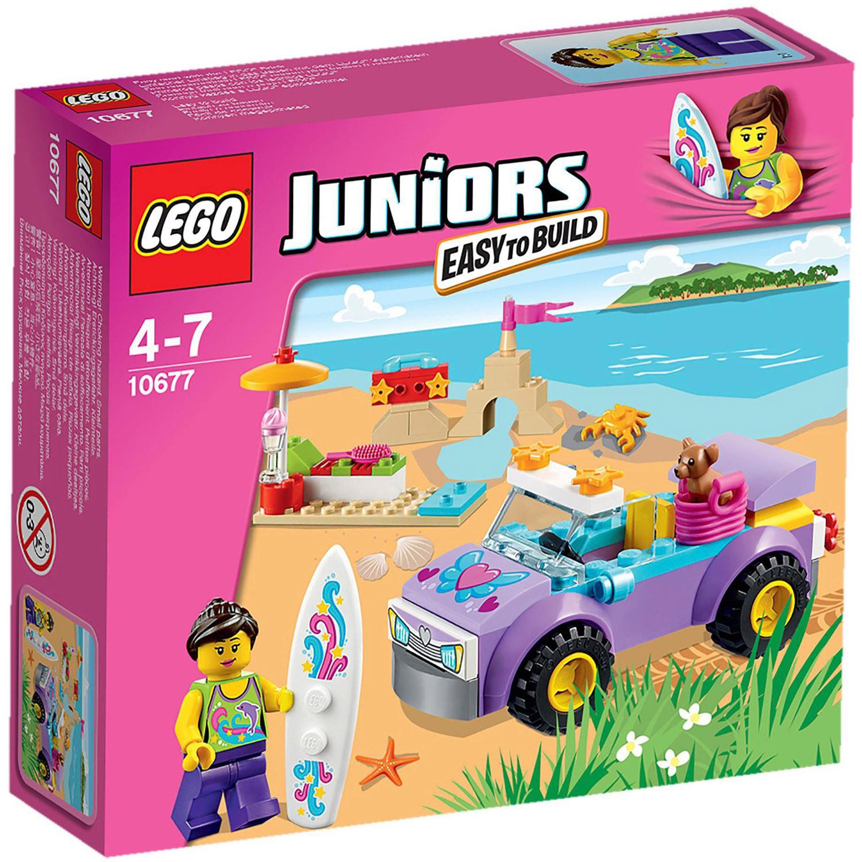 Конструктор LEGO Junior 10677 Поездка на пляж<br>