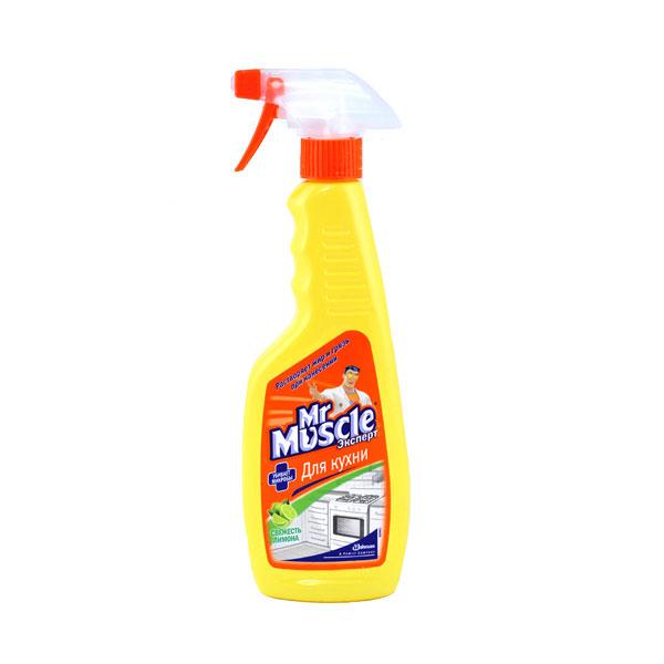 Чистящее средство Мистер Мускул 450 мл. Свежесть Лимона<br>
