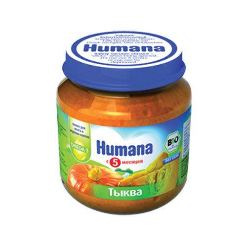 Пюре Humana овощное 125 гр Тыква (с 5 мес)<br>
