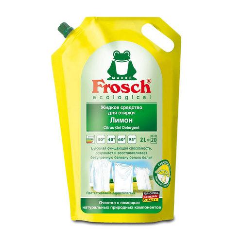 Жидкое средство Frosch для стирки 2 л. Лимон<br>