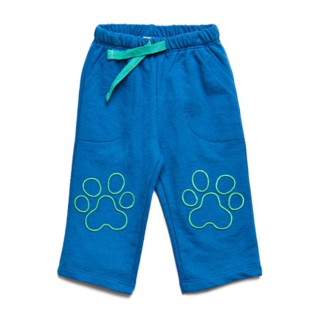 Спортивные брюки для мальчиков 5.10.15. голубой 12 мес.
