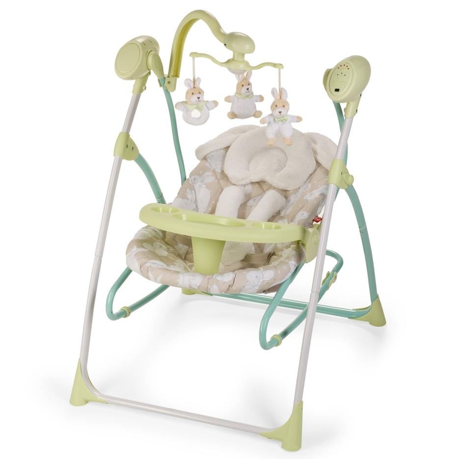 Электрокачели Happy Baby Luffy Green<br>