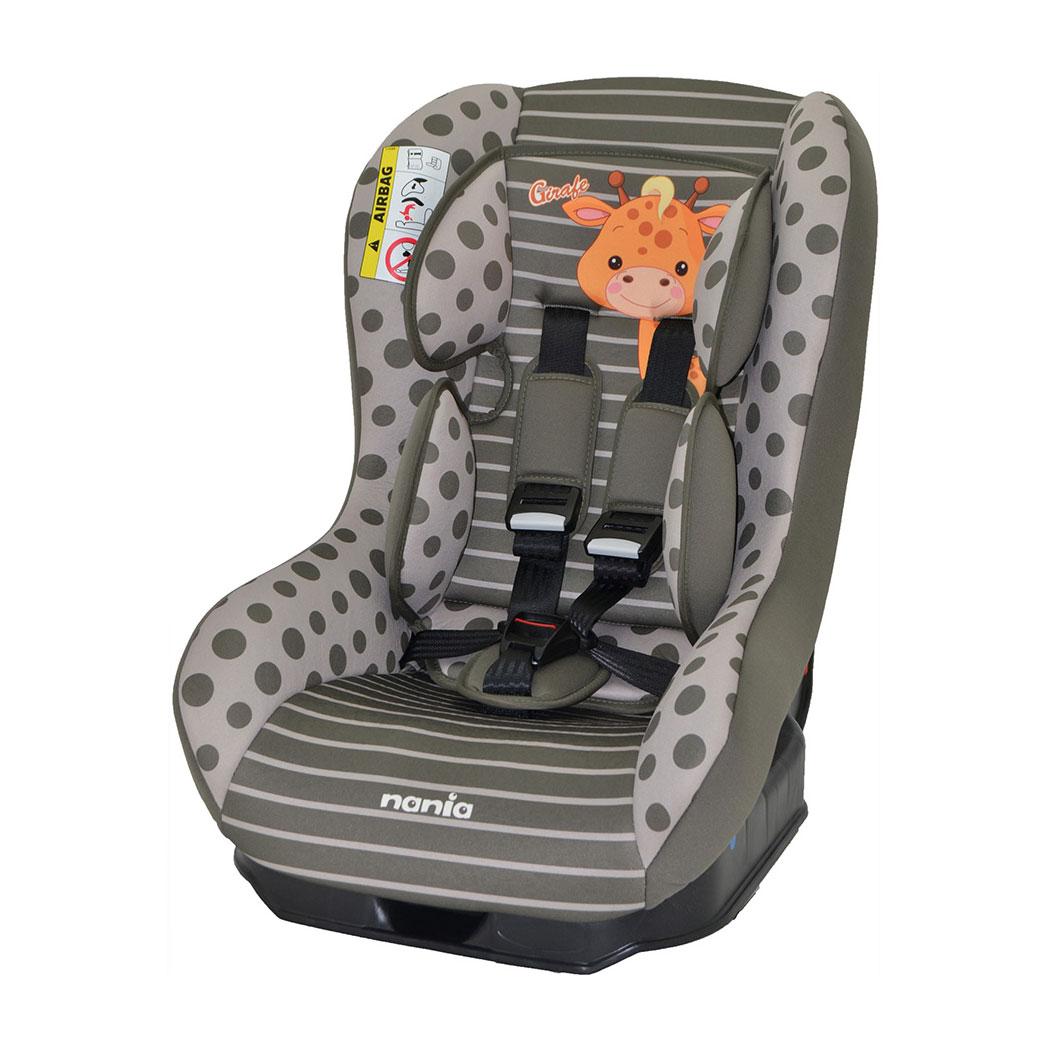 Автокресло Nania Driver 0-18кг Animals Giraf Browny<br>