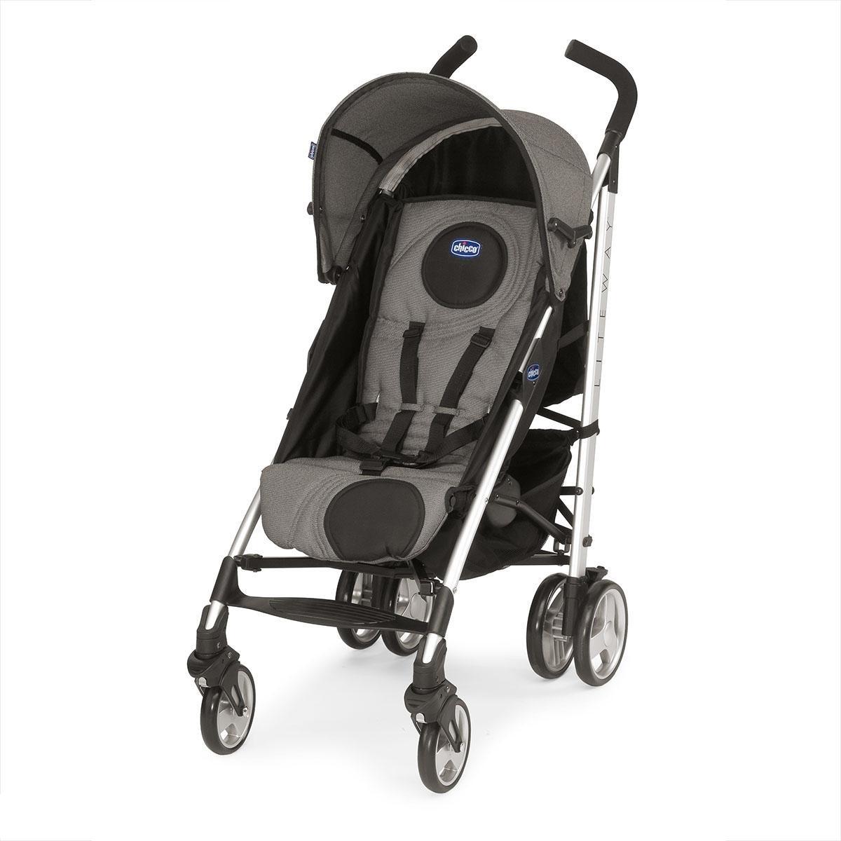 Коляска Chicco Lite Way Top Stroller black night<br>