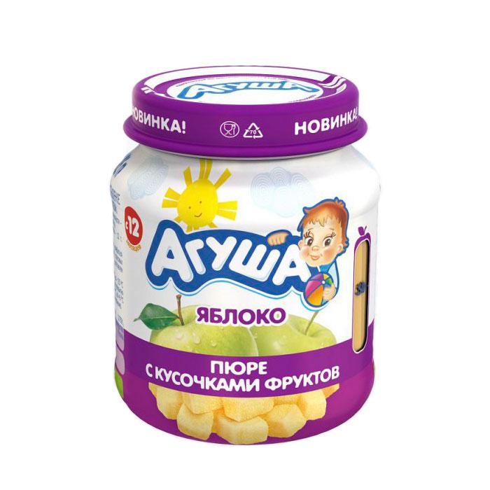 Пюре Агуша фруктовое 105 гр Яблоко (с 12 мес)<br>