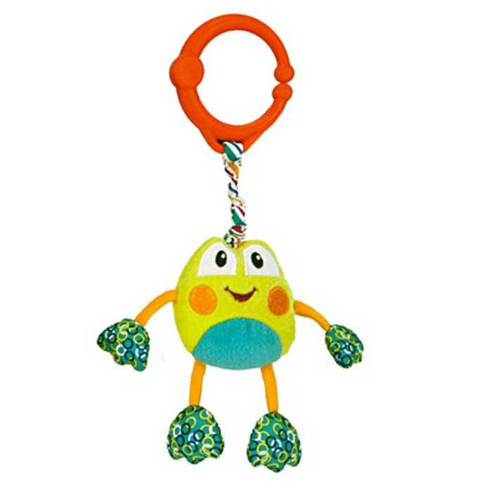 Развивающая игрушка Bright Starts Дрожащий дружок - Лягушка<br>