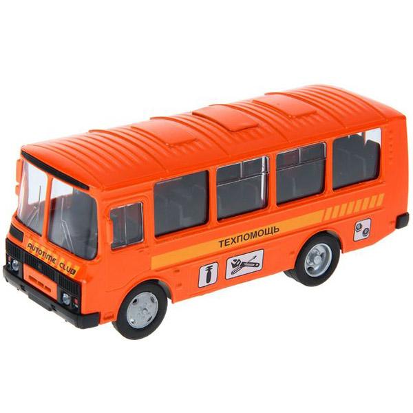 Машинка Autotime ПАЗ-32053 техпомощь 1:43<br>