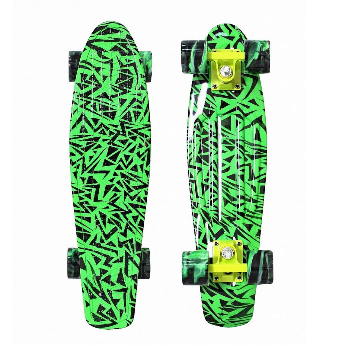 ��������� Y-Scoo Penny board Print Green Elka